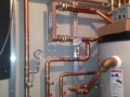 Glycol & hot water piping