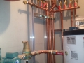 Heating & cooling piping